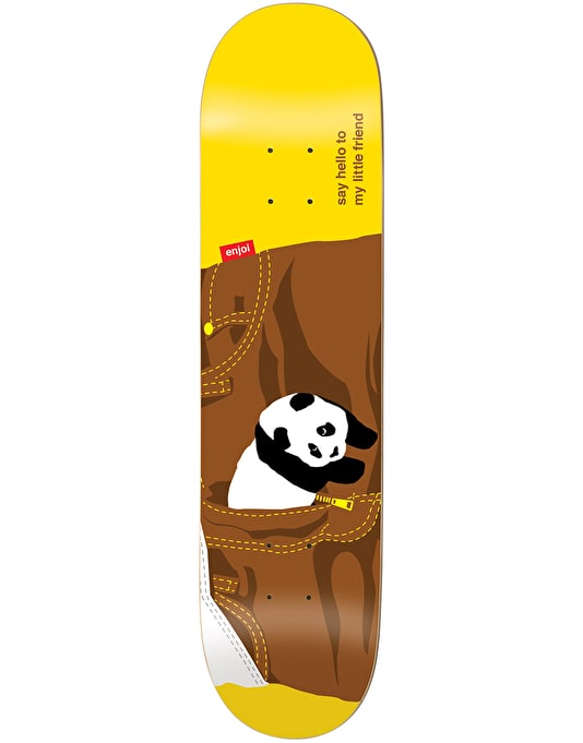 Enjoi Little Friend Skateboard Deck - 8""