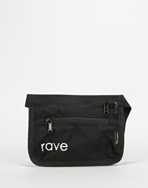 Rave Slim Fanny Pack - Black/Purple