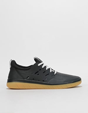 Nike SB Nyjah Free Skate Shoes - Black/Black-Gum Light Brown