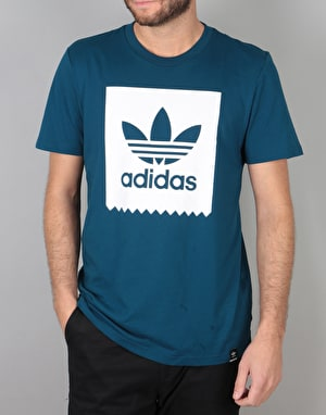 Adidas Solid BB T-Shirt - Blue