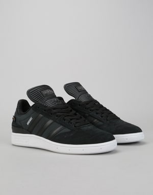 Adidas Busenitz Pro Skate Shoes - Core Black/Core Black/White