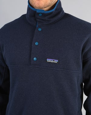 Patagonia Lightweight Better Sweater Marsupial Pullover - Navy Blue