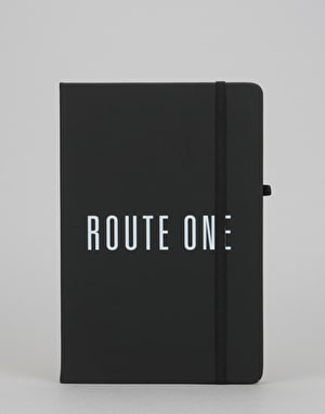 Route One Logo Notebook - Black