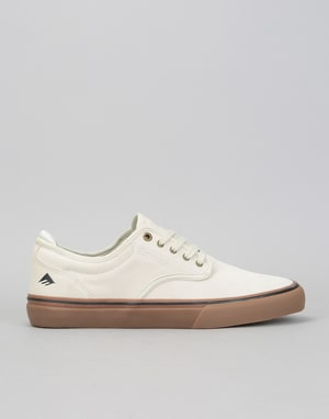 Emerica Wino G6 Skate Shoes - White/Gum/Black