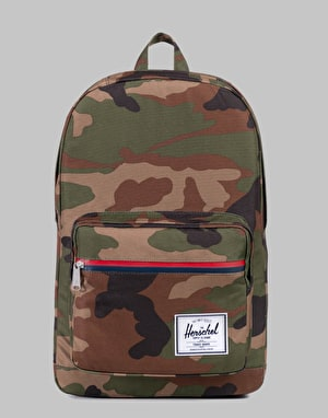 Herschel Supply Co. Pop Quiz Backpack - Woodland Camo/Multi Zip