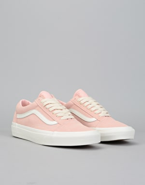 Vans Old Skool Skate Shoes - (Herringbone Lace) English Rose