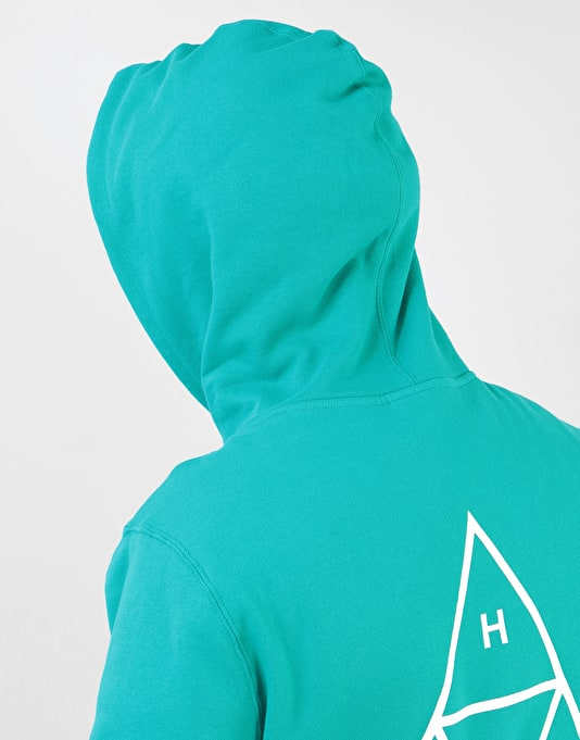 HUF Triple Triangle Pullover Hoodie - Tropical Green