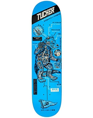 Primitive Tucker Kaiju Skateboard Deck - 8.5