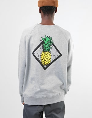 Original Pineapple Sweatshirt - Heather Grey