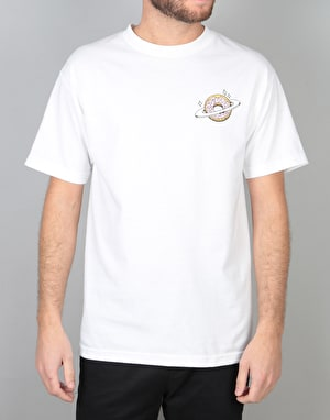 Skateboard Café Planet Donut T-Shirt - White