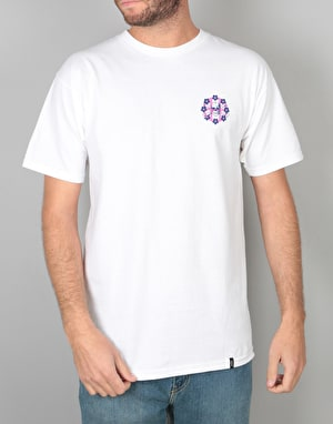 HUF Killer Circle H T-Shirt - White