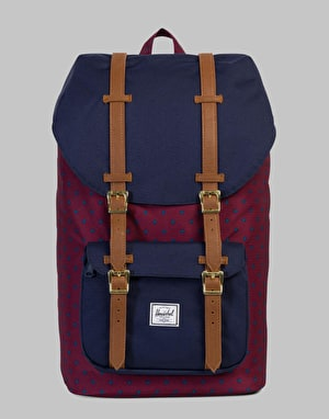Herschel Supply Co. Little America Backpack - Windsor Wine/Peacoat/Tan