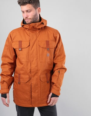DC Servo 2018 Snowboard Jacket - Leather Brown