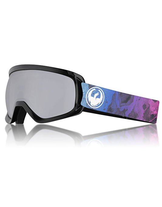 Dragon D3 OTG 2018 Snowboard Goggles - Ink/LUMALENS® Silver Ion
