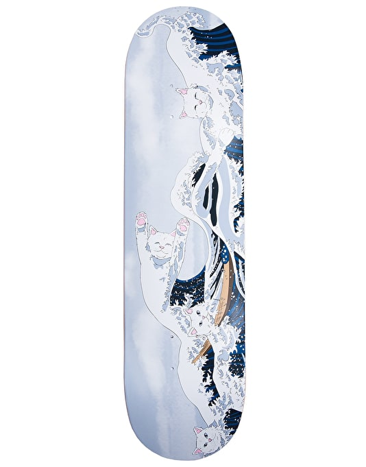 RIPNDIP Great Wave of Nerm Skateboard Deck - 8""