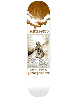 Anti Hero Pfanner Book of Anti Hero Skateboard Deck - 8.38