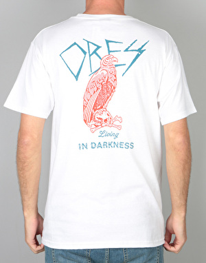Obey Living In Darkness T-Shirt - White