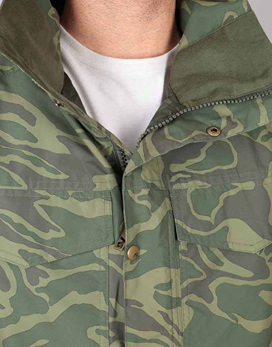 Analog Tollgate 2018 Snowboard Jacket - Rifle Green Noodle Camo
