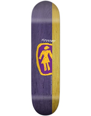 Girl Howard Sketchy OG Pro Deck - 8.5