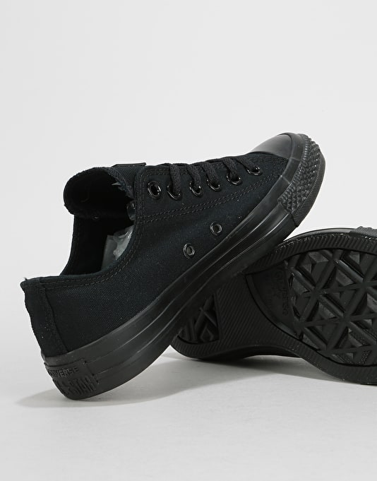 Converse All Star Low Monochrome Womens Trainers - Black