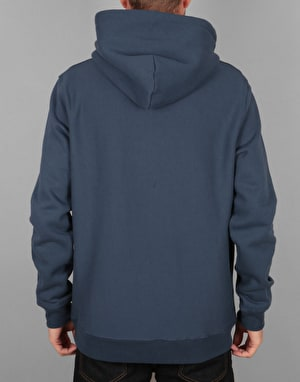 Stüssy Stock Logo Pullover Hoodie - Blue