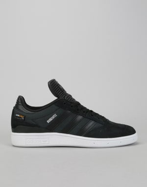 Adidas Busenitz Skate Shoes - Core Black/Core Black/White