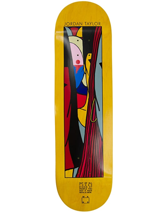 WKND Jordan Lyric Series Skateboard Deck - 8.38""