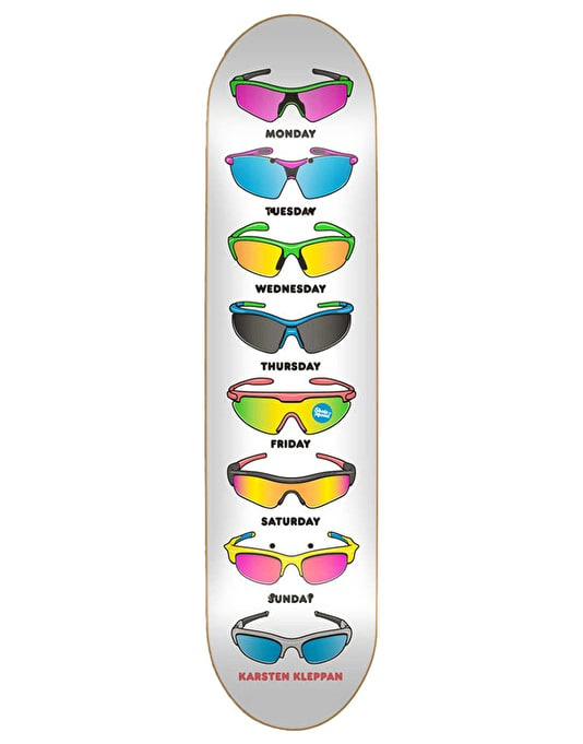 Skate Mental Kleppan Sunglasses Skateboard Deck - 8.25""