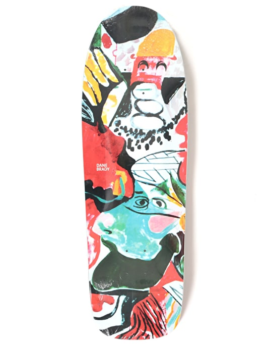 Polar Brady Egoloss Skateboard Deck - DANE 1 Shape 9.75""