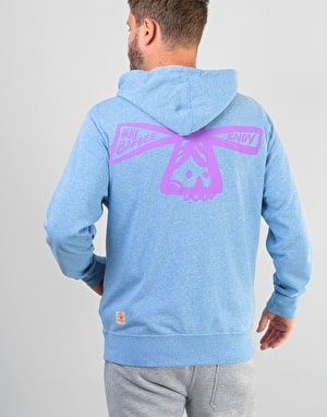 Independent Barbee Cross Zip Hoodie - Sky Heather