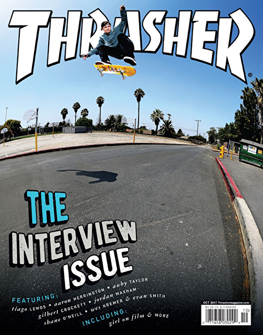Thrasher Magazine Issue 447 October 2017