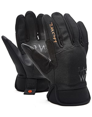 Howl Jeepster 2018 Snowboard Gloves - Black