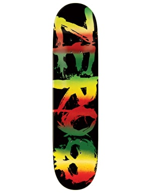 Zero Sandoval Rasta Blood Skateboard Deck - 8
