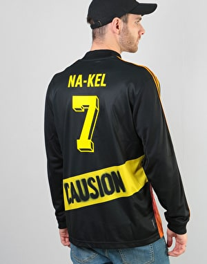 Adidas Na-Kel L/S GK Jersey - Black/Yellow/Bright Orange/Red