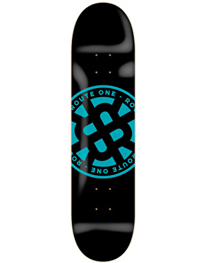 Route One Stamp Logo Team Deck - 8.25