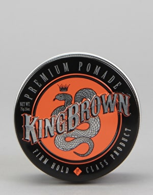 King Brown Premium Pomade 75g Hair Product