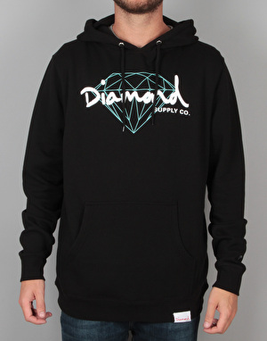 Diamond Supply Co. Brilliant Script Pullover Hoodie - Black