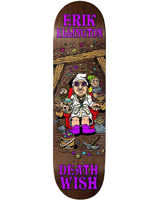 Deathwish Ellington Happy Place Pro Deck - 8.125""