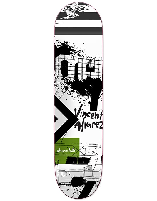 Chocolate x Evan Hecox Alvarez Out West Skateboard Deck - 8""
