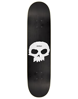 Zero Pearlescent Single Skull Skateboard Deck - 8