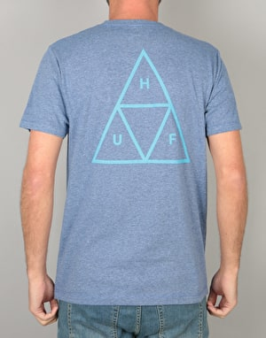 HUF Triple Triangle T-Shirt - Denim