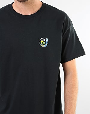 Colourblind Diamond Falls T-Shirt - Black
