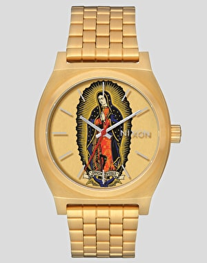 Nixon x Santa Cruz Time Teller Watch - Gold/Jessee