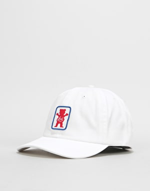 éS x Grizzly Deuce 6 Panel Cap - White