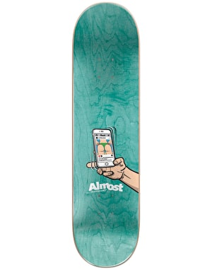 Almost Yuri Augmented Reality Skateboard Deck - 8.125