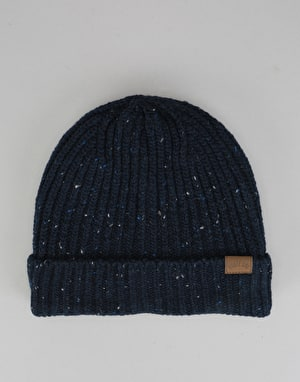 Route One Fleck Beanie - Navy/Multi Fleck