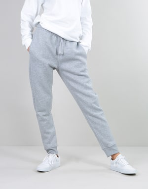 Route One Womens Oversized Sweatpants - Light Grey Marl