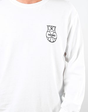 Theories Moloch L/S T-Shirt - White