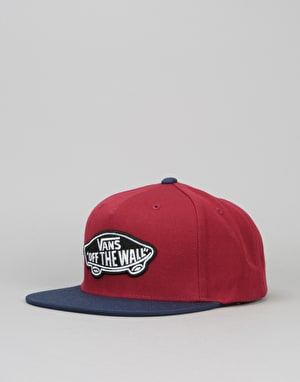 Vans Classic Patch Snapback Cap - Rhubarb/Dress Blue