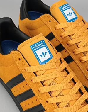 Adidas Superstar Vulc ADV Skate Shoes - Tactile Yellow/Core Black/Blue